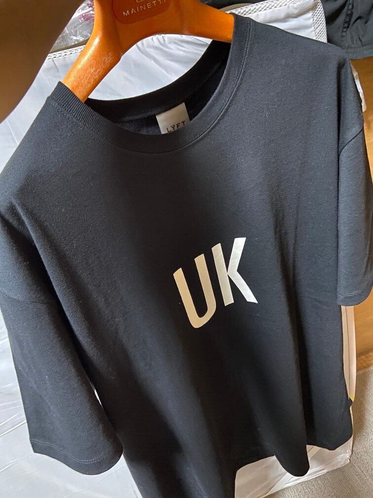 Lyft(リフト)Tシャツ(正面)