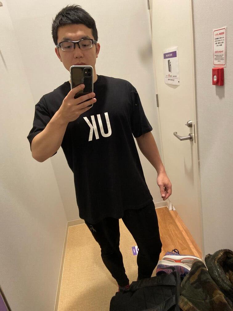 Lyft(リフト)Tシャツの着用画像