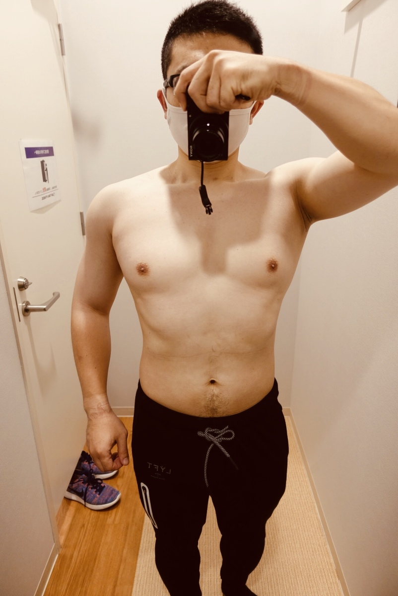 【ダイエット1週目】体型正面