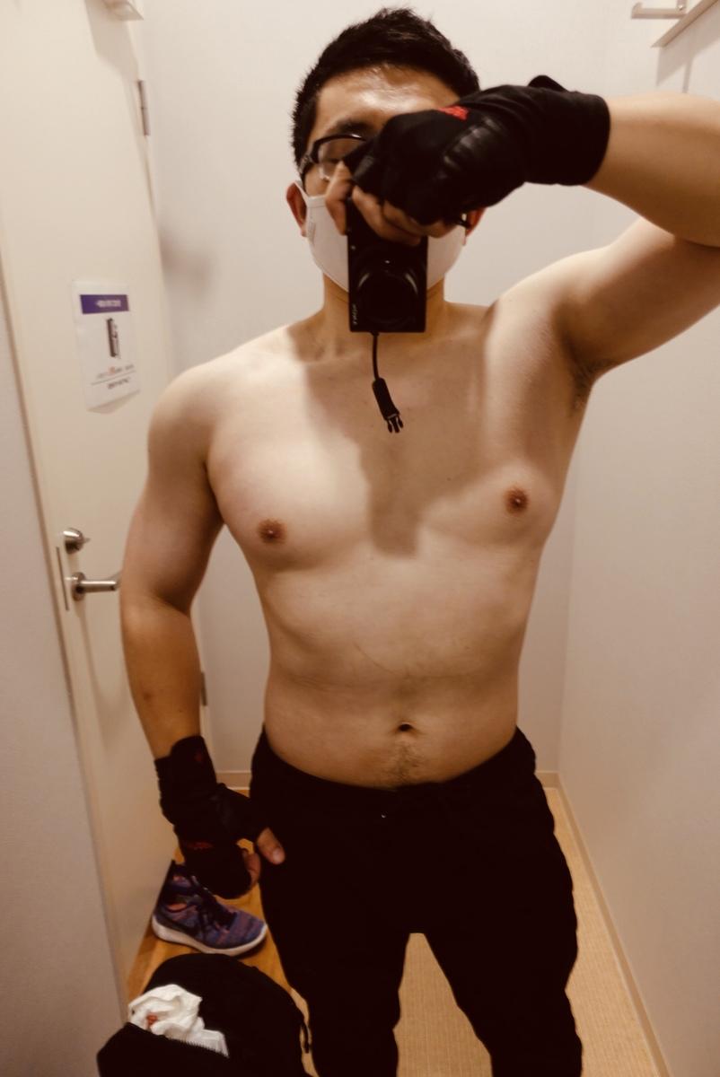 【ダイエット開始前】体型正面