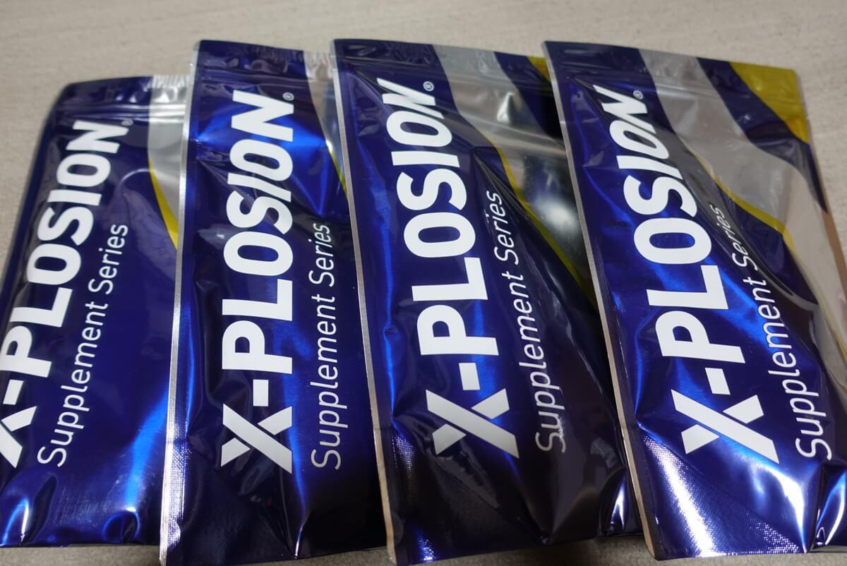 購入製品紹介|X-PLOSION(エクスプロージョン)100%ナチュラルホエイプロテイン
