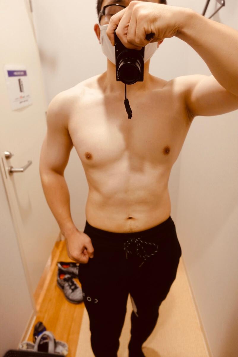 【ボディメイク開始前】体型正面
