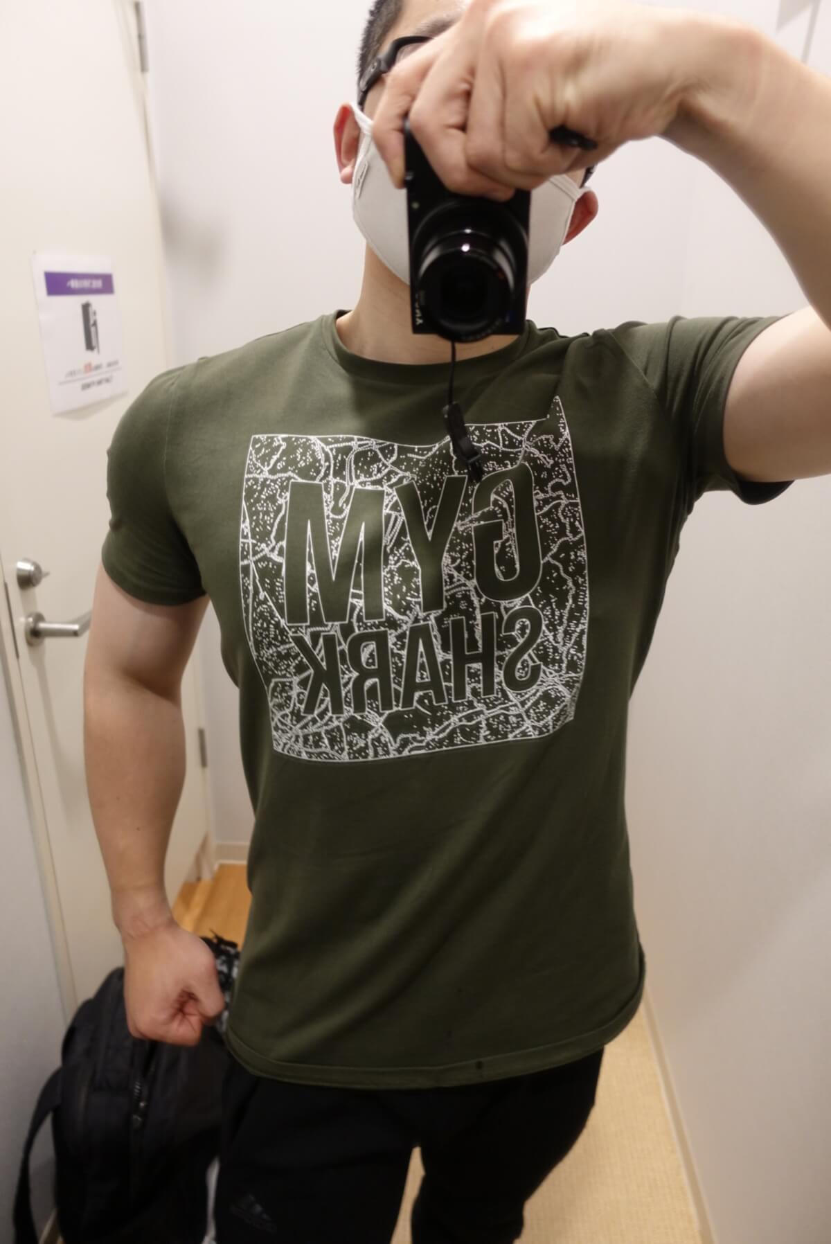 gymshark-tシャツ-正面