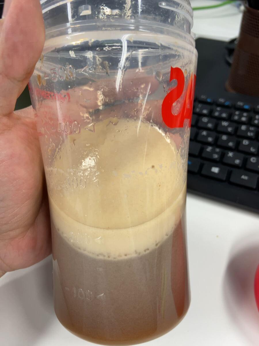 【黒糖ミルクティー感想レビュー】溶けやすさ2