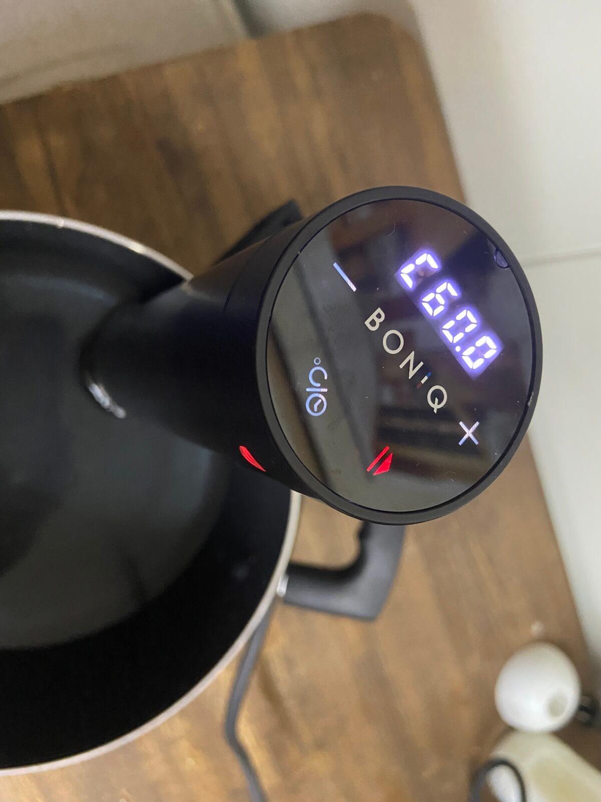 BONIQ加熱温度セット