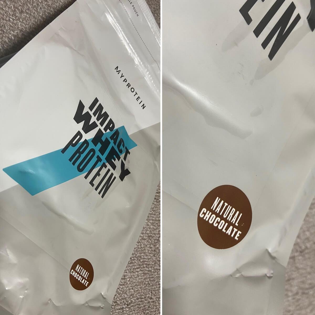 IMPACTホエイプロテイン・ナチュラルチョコレート