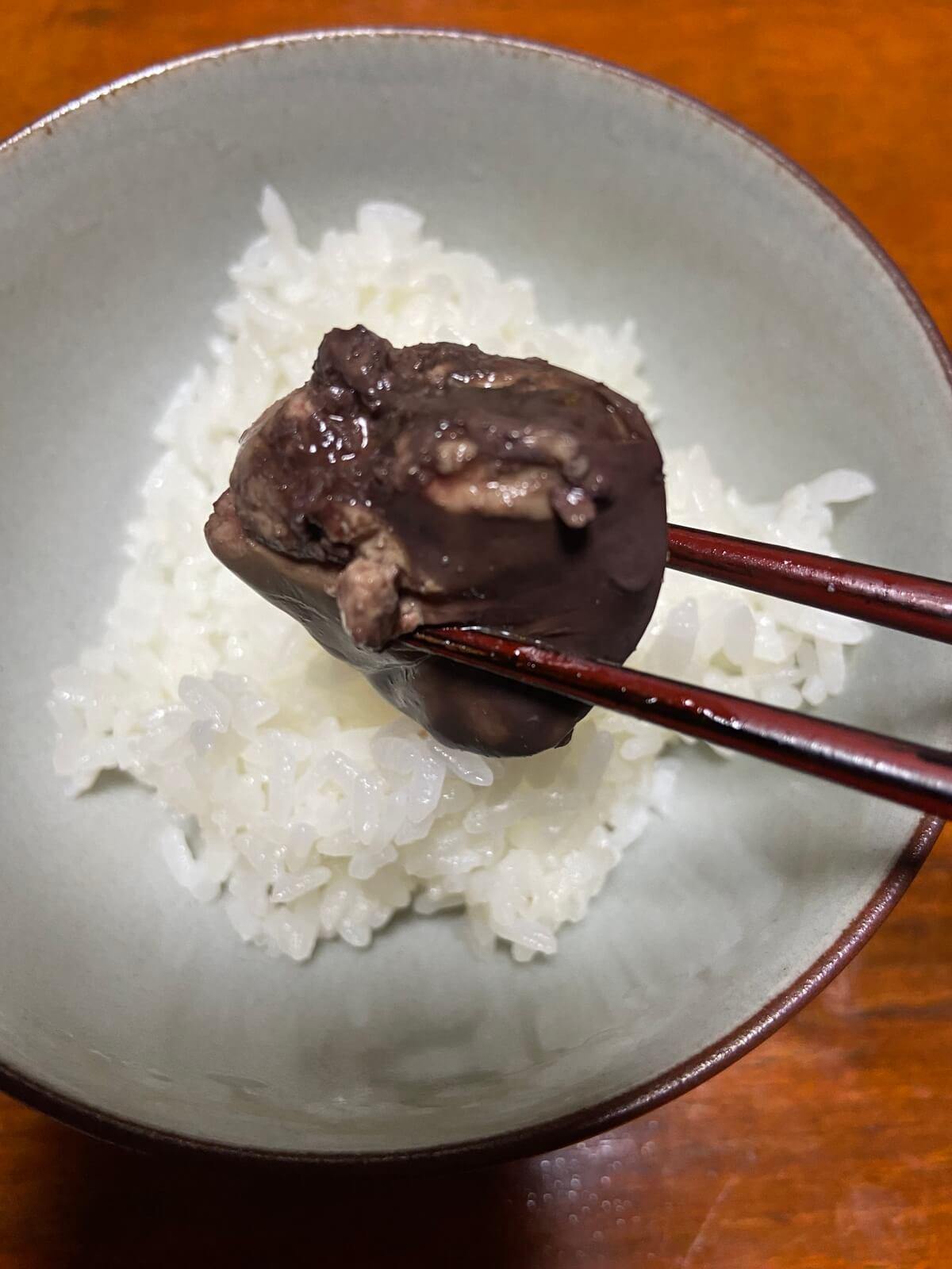 【BONIQレシピ】鶏レバーワイン煮の感想